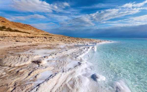 Соль на дне моря