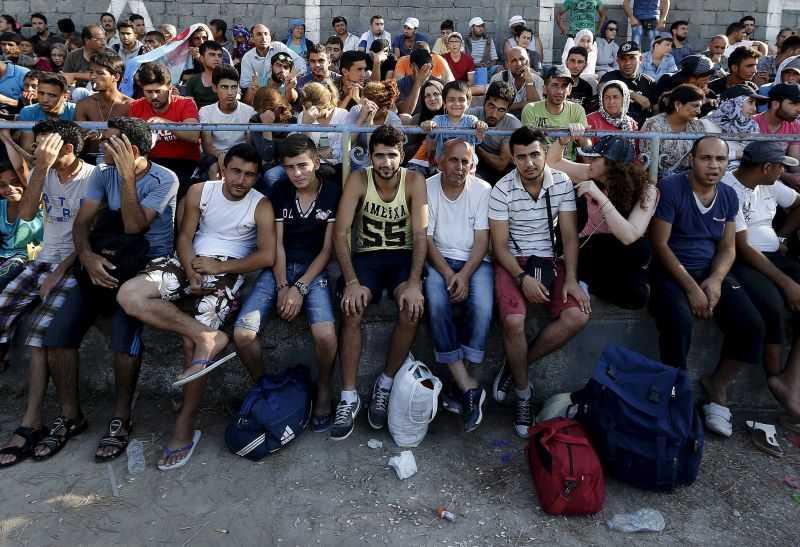 сколько беженцев в Греции сейчас