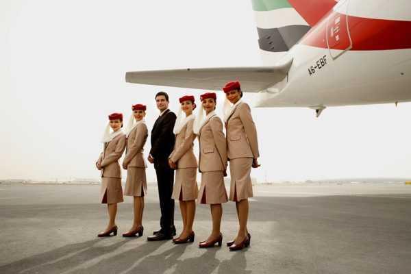 работа стюардессой в ОАЭ