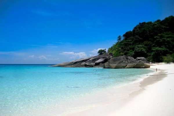 Пляж в Тайланде
