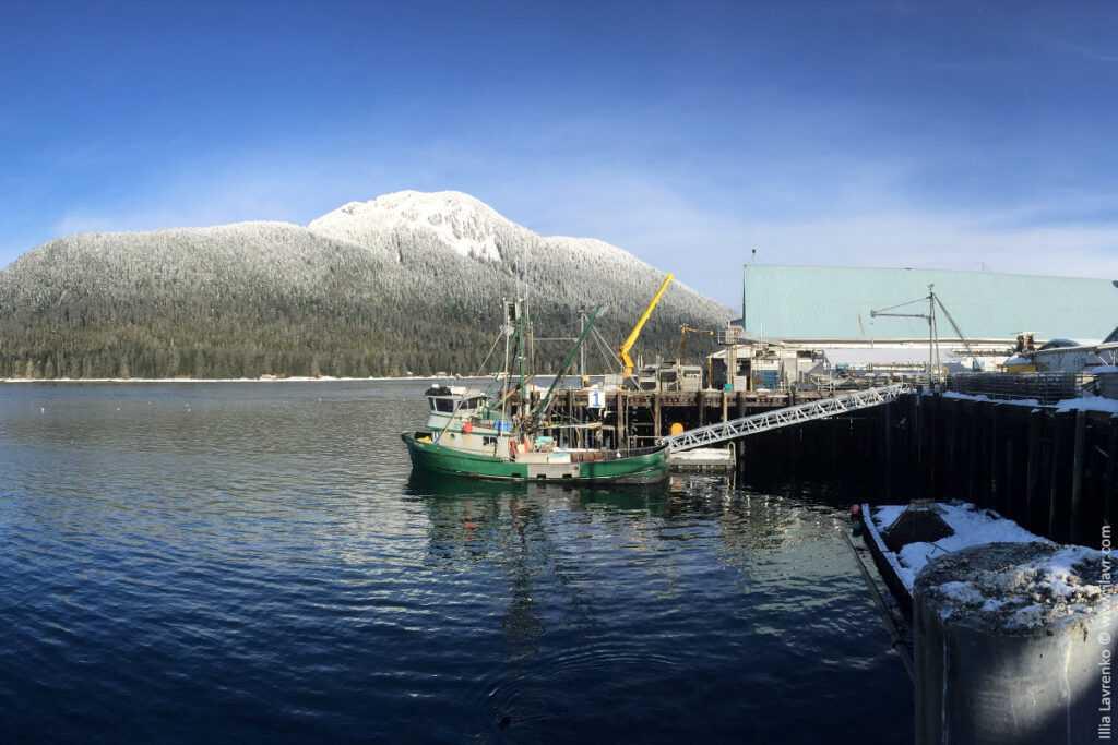работа на Аляске