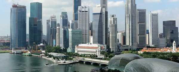 Набережная Сингапура